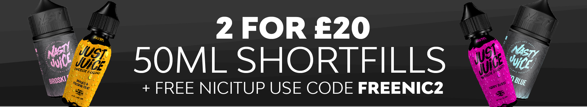 Shortfills 2 for £20