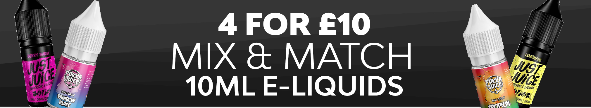 Mix & Match 4 for £10