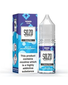 Blue Raspberry 10ml 50/50 - SQZD Nic Salts
