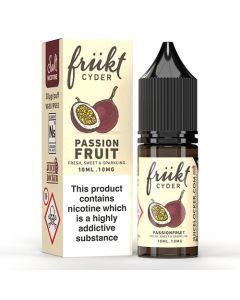 Passionfruit 10ml 50/50 - Frukt Cyder Nic Salts