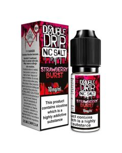 Strawberry Burst 10ml - Double Drip Nic Salts