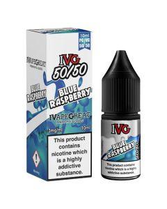 Blue Raspberry 10ml 50/50 - IVG E-Liquid