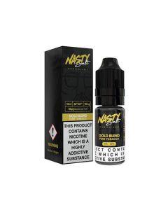 Gold Tobacco 10ml 50/50 - Nasty Juice Nic Salts
