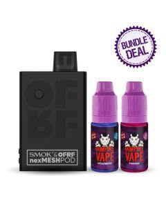 Smok OFRF Nexmesh Pod Kit + 2 E-Liquids Bundle