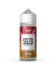 Blood Orange 100ml 70/30 - SQZD Fruit Co Shortfill