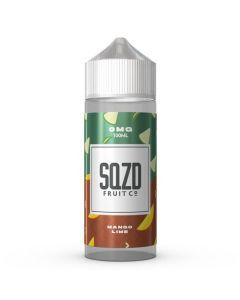 Mango Lime 100ml 70/30 - SQZD Fruit Co Shortfill